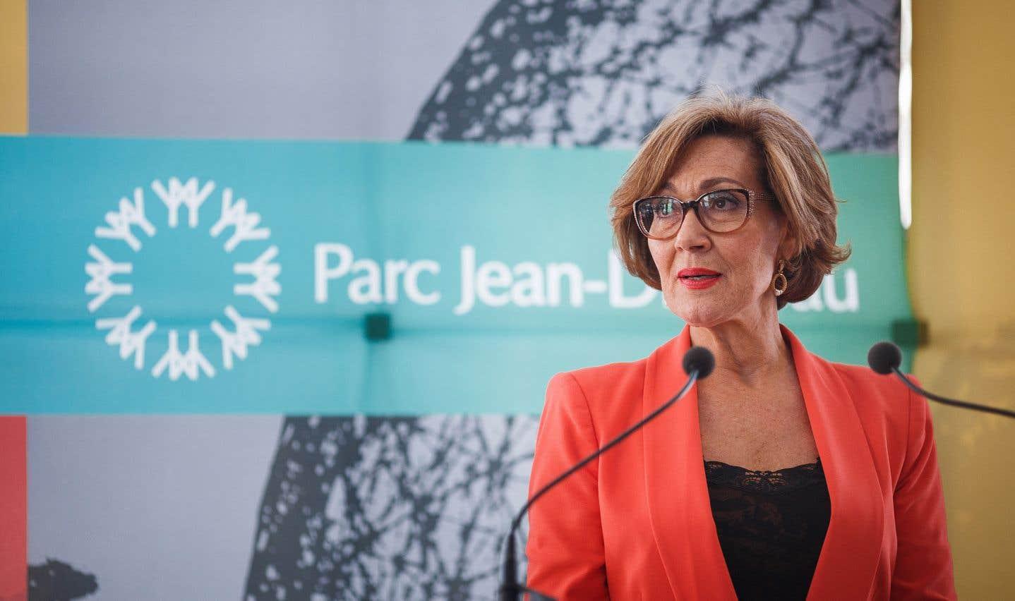 DanièleHenkel a évoqué «le sens du devoir accompli» pour justifier sa décision de ne pas solliciter un deuxième mandat à la tête du conseil d'administration de la Société du parc Jean-Drapeau.
