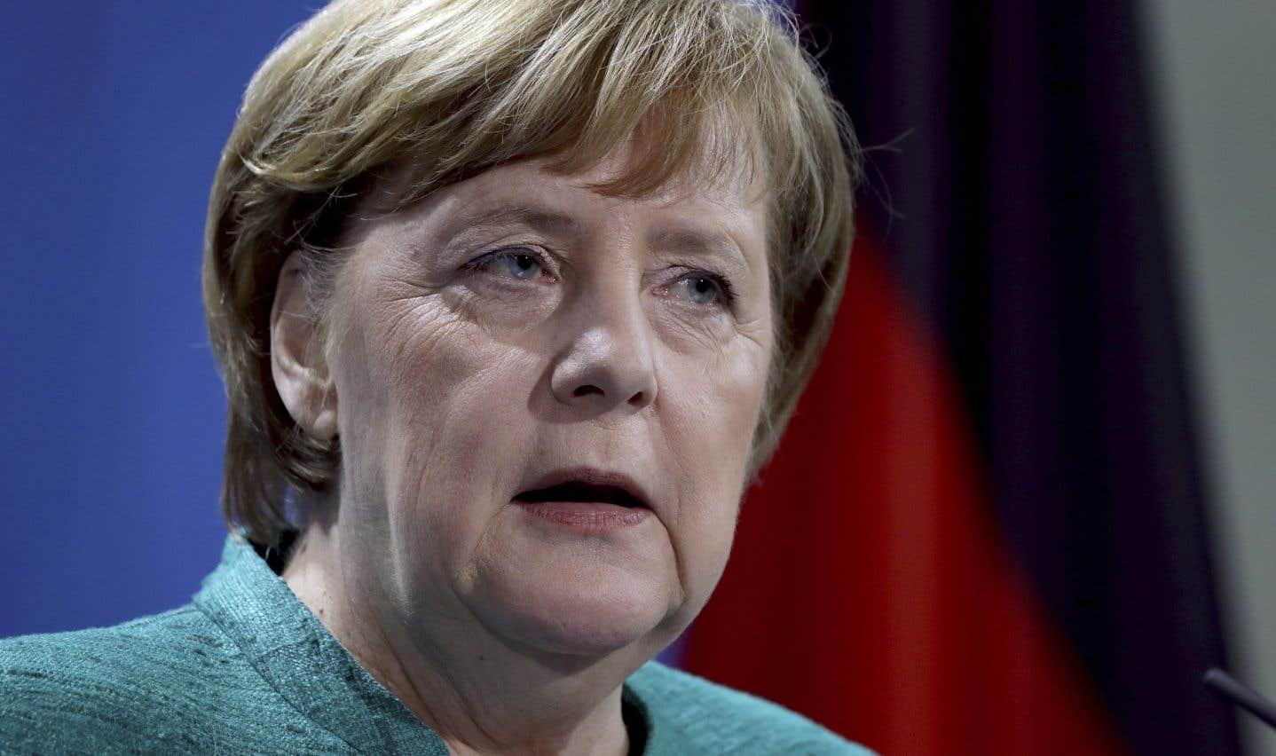 La chancelière allemande, Angela Merkel,était déjà fragilisée dans le pays à la suite du mécontentement suscité dans l'opinion par l'arrivée de plus d'un million de migrants depuis 2015.