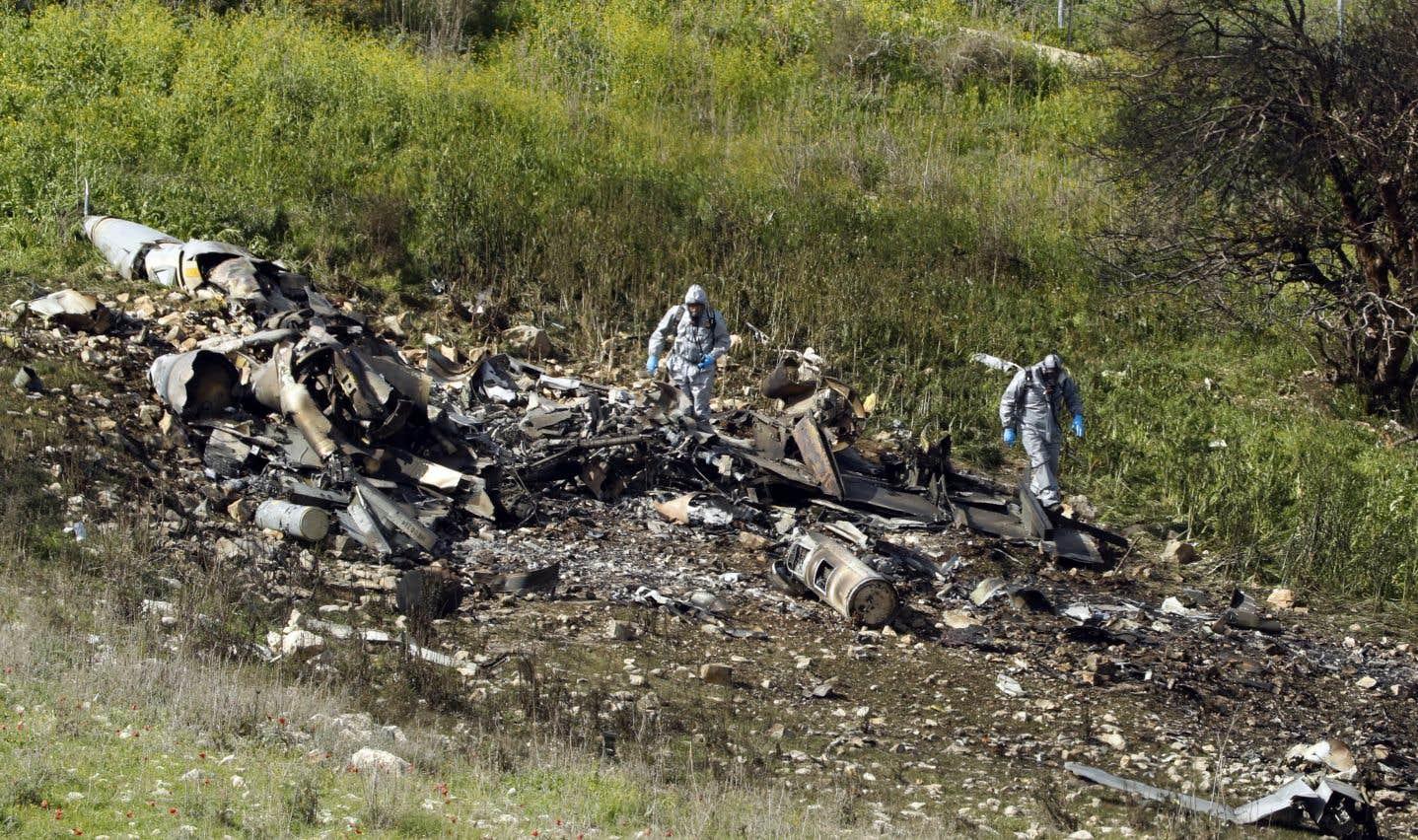 Une succession d'événements a culminé samedi par la destruction d'un F-16 israélien touché par la défense anti-aérienne syrienne.