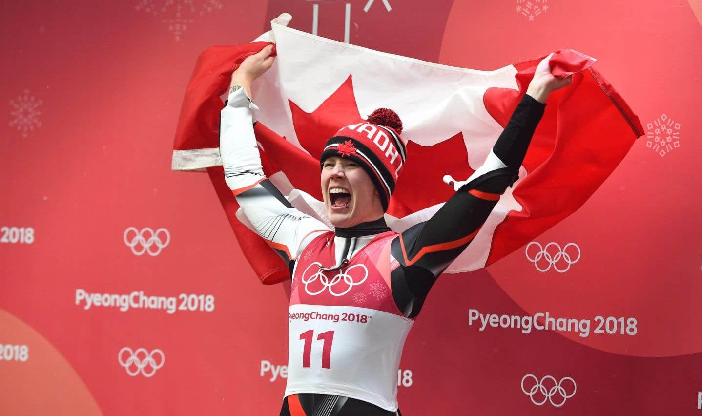 La lugeuse Alex Gough remporte la médaille de bronze