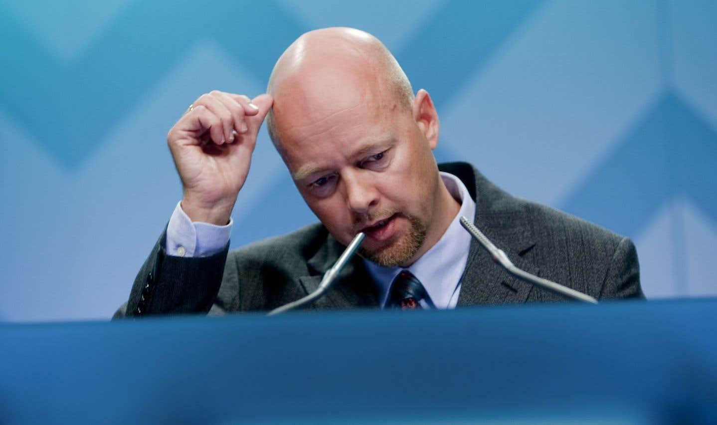 Le directeur général de Norges Bank Investment Management,Yngve Slyngstad