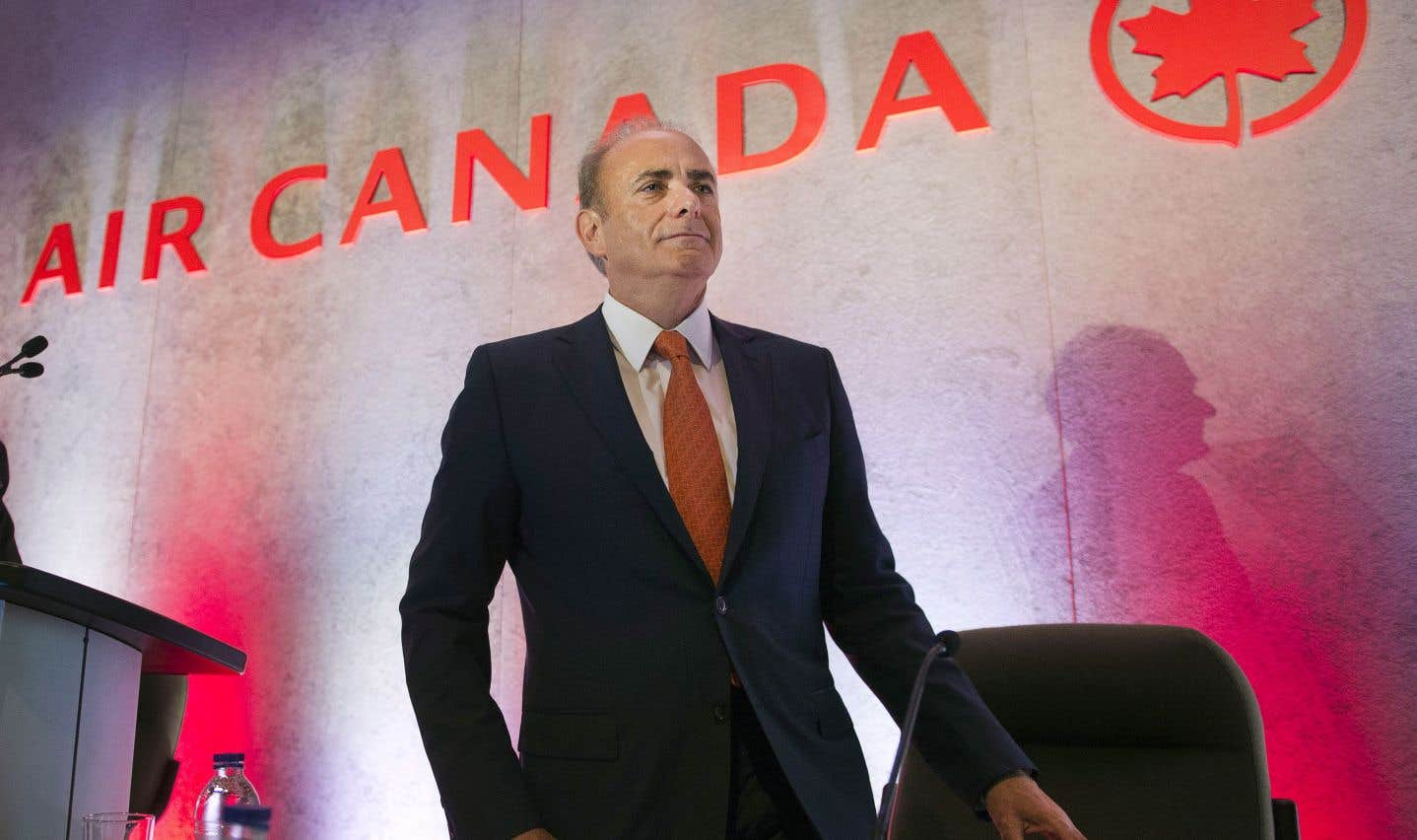 Le président et chef de la direction d'Air Canada, Calin Rovinescu