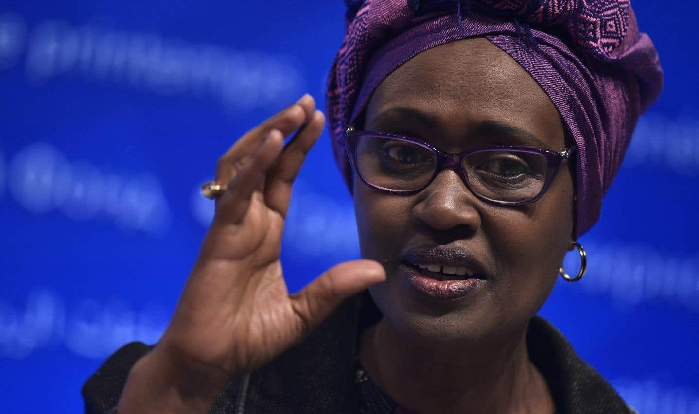 La directrice exécutive d'Oxfam international,Winnie Byanyima