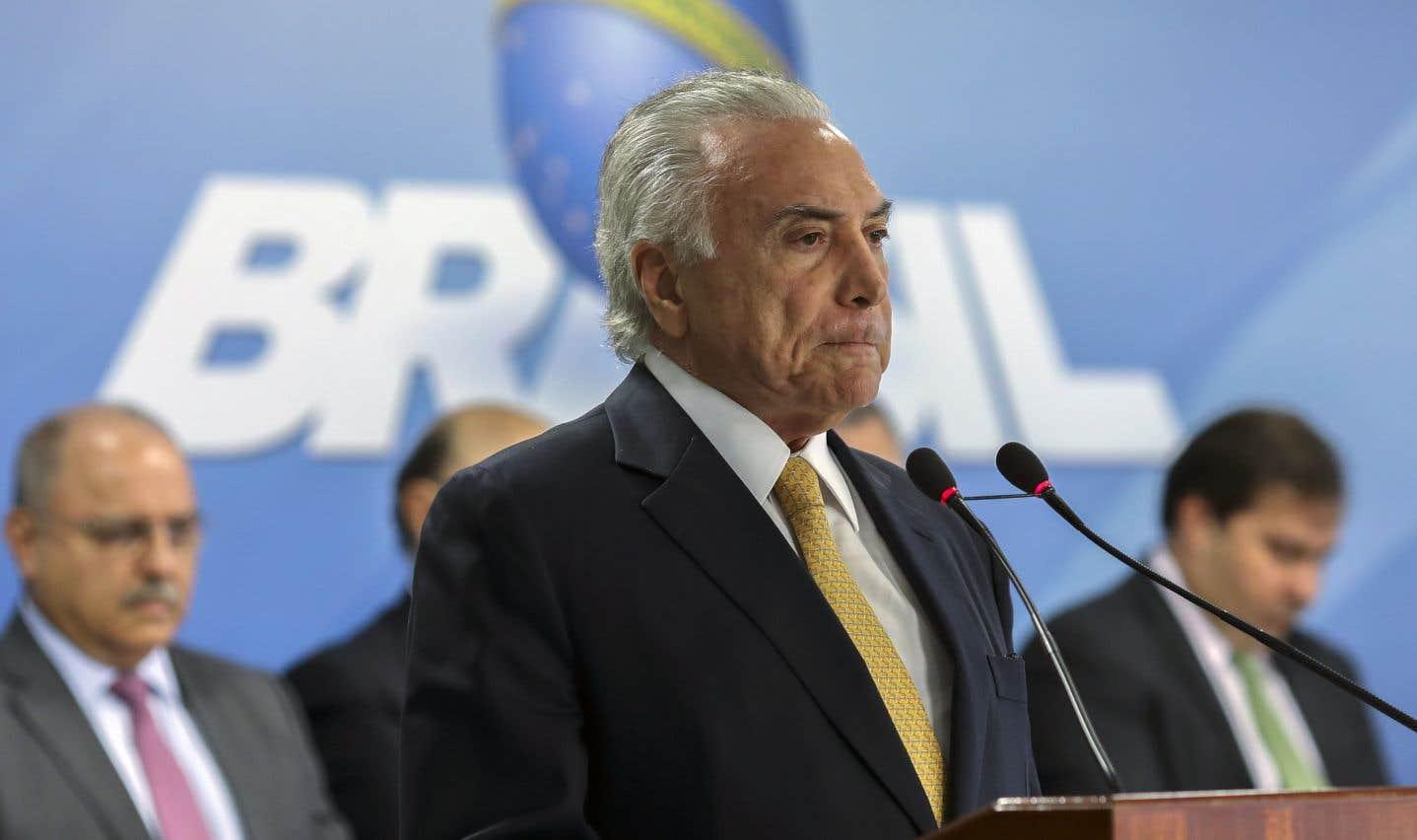 «Le crime organisé a quasiment pris le contrôle de Rio. C'est une métastase qui se propage dans notre pays et menace la tranquillité de notre peuple», a déclaré le président brésilien, Michel Temer.