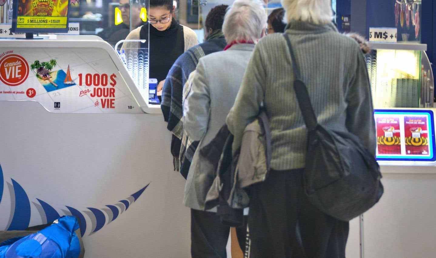 Loto-Québec a souligné qu'en 2017, le Québec a fait un total de 132 nouveaux millionnaires — un record.
