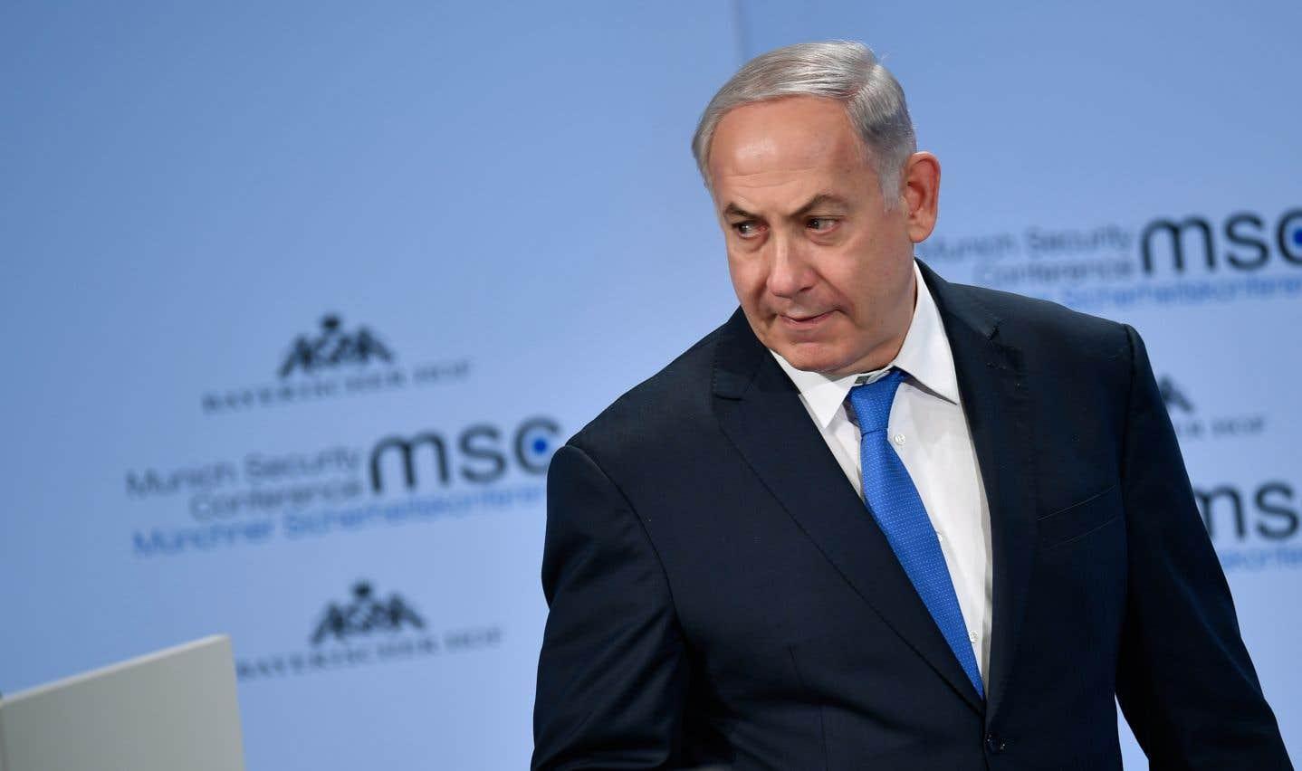 Le premier ministre Benjamin Nétanyahou