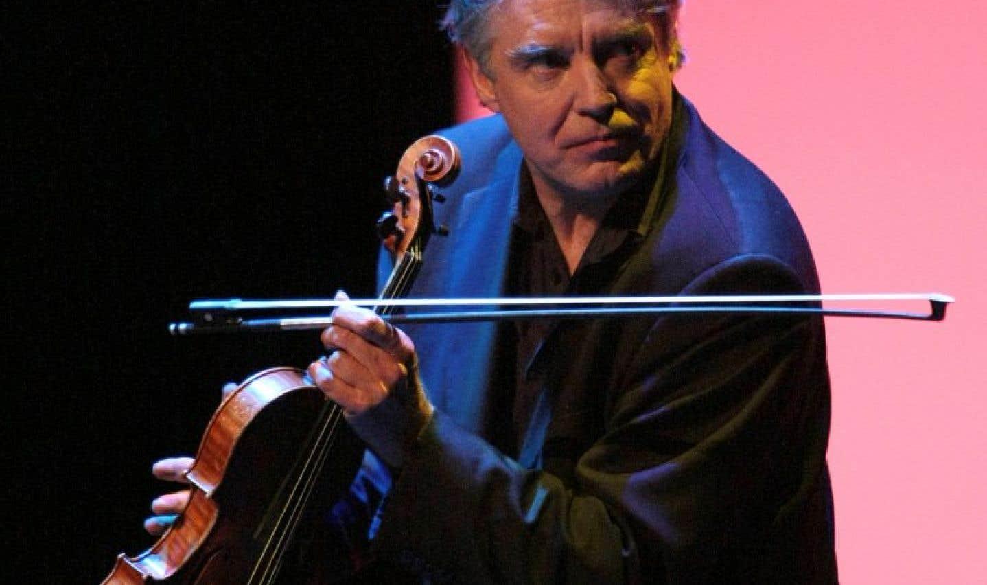 Le violoniste français de jazz Didier Lockwood en 2008