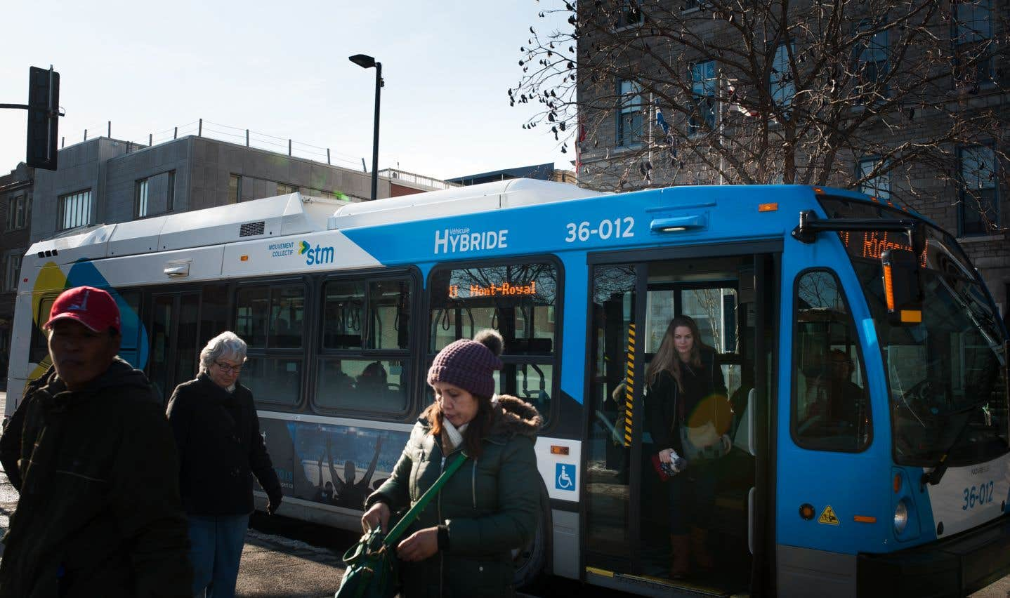 À Montréal, des arrondissements ont vu une baisse de l'utilisation du transport en commun.
