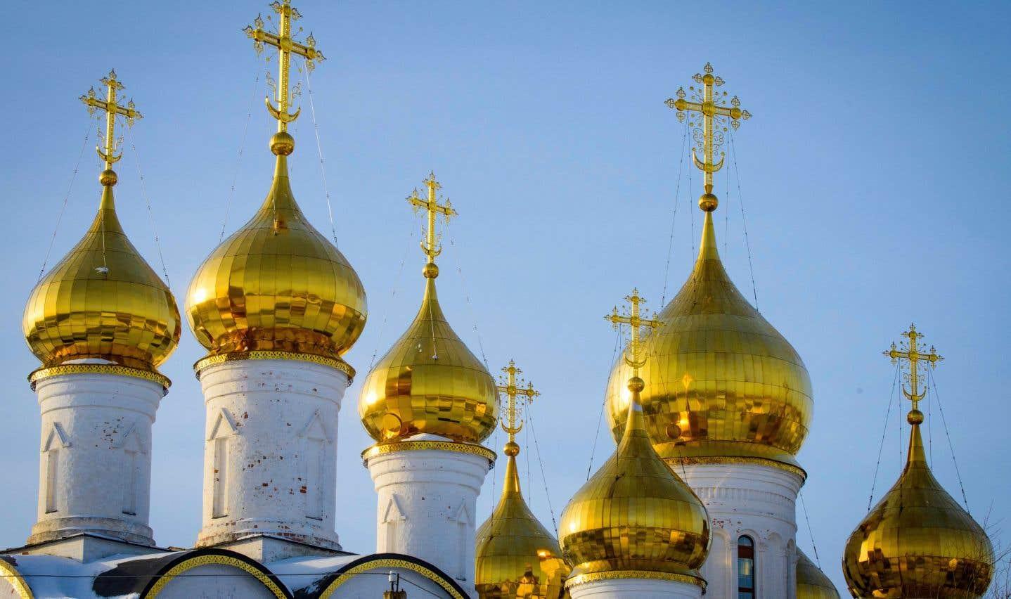 Une église orthodoxe à Pereslavl-Zalessky, en Russie