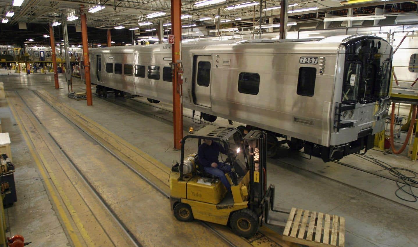 Bombardier Transport a prévenu qu'il faudra prendre une décision rapidement à l'endroit de l'usine de La Pocatière étant donné que le carnet de commandes sera vide dans environ un an.