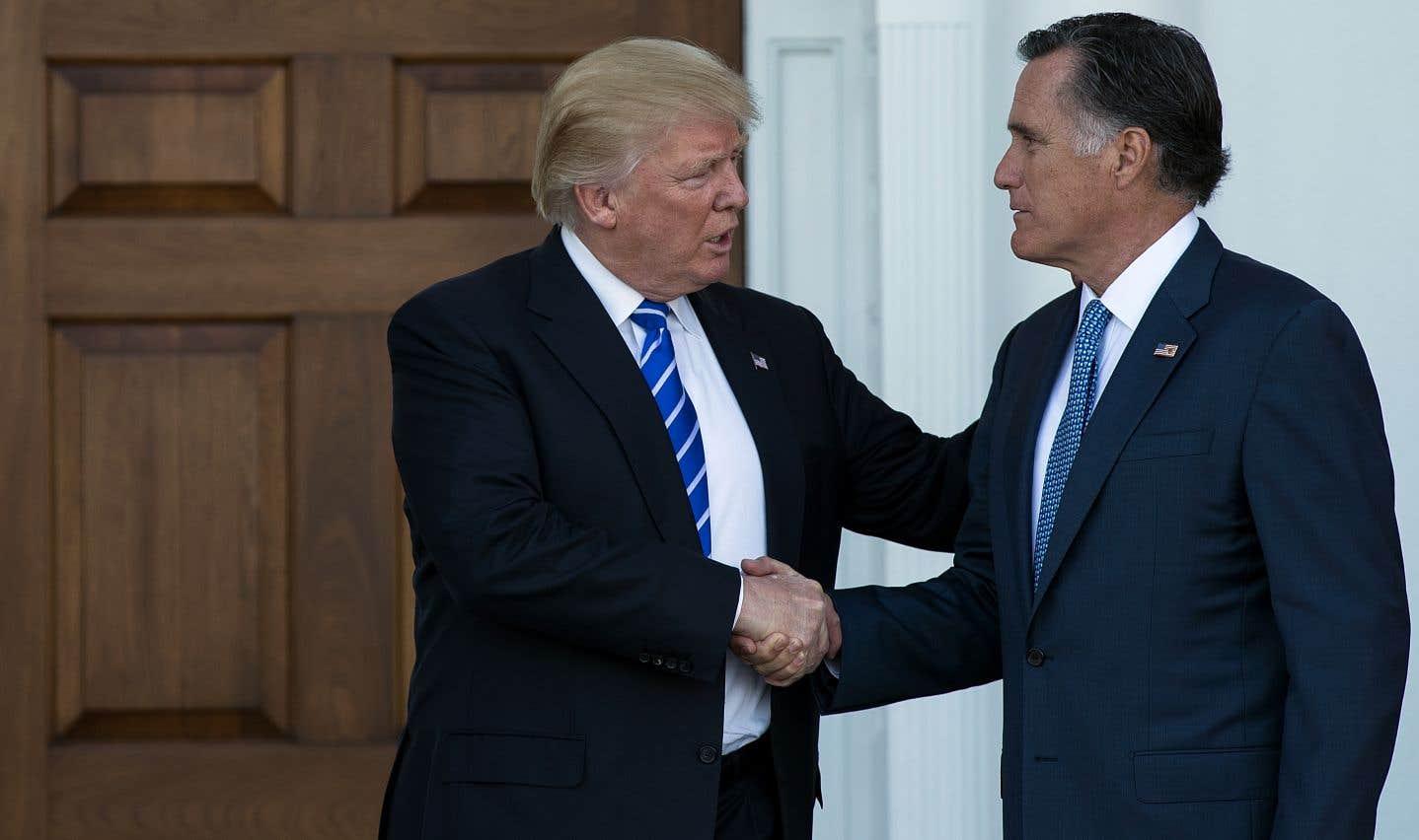 Mitt Romney, qui est aujourd'hui candidat à une élection sénatoriale, a pourtant souvent critiqué Donald Trump.