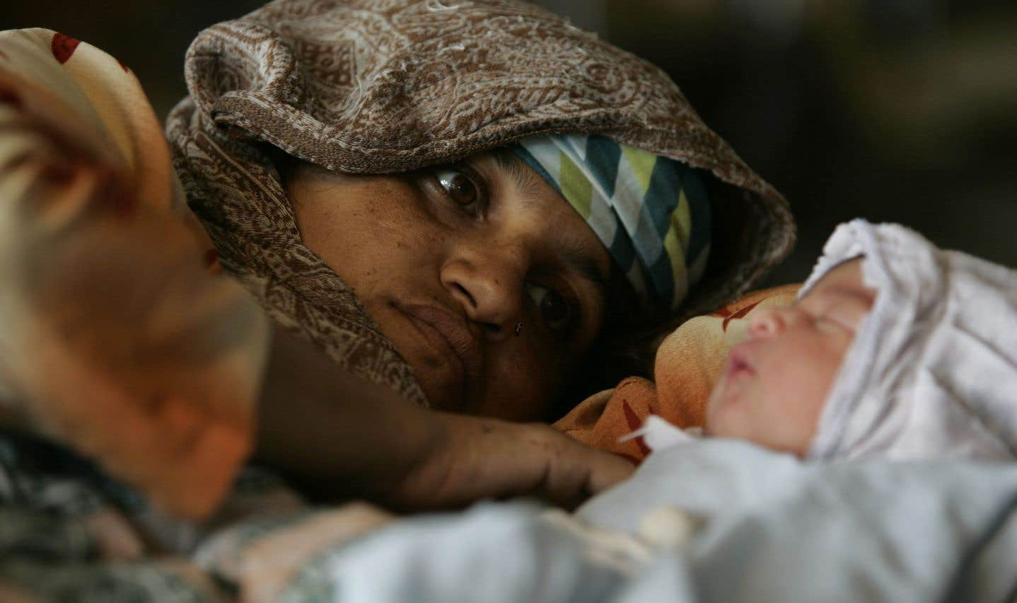 Pour chaque 1000 enfants qui naissent au Pakistan, 46 meurent à la naissance.