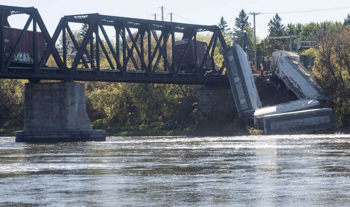 Un déraillement de train s'est produit à Laval, le 13 octobre 2017.Il y a eu 1090 accidents ferroviaires en 2017.