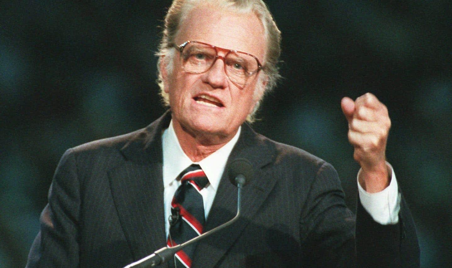 Surnommé le «pasteur de l'Amérique», M.Graham avait conseillé tous les présidents entre Dwight D. Eisenhower et George W. Bush.