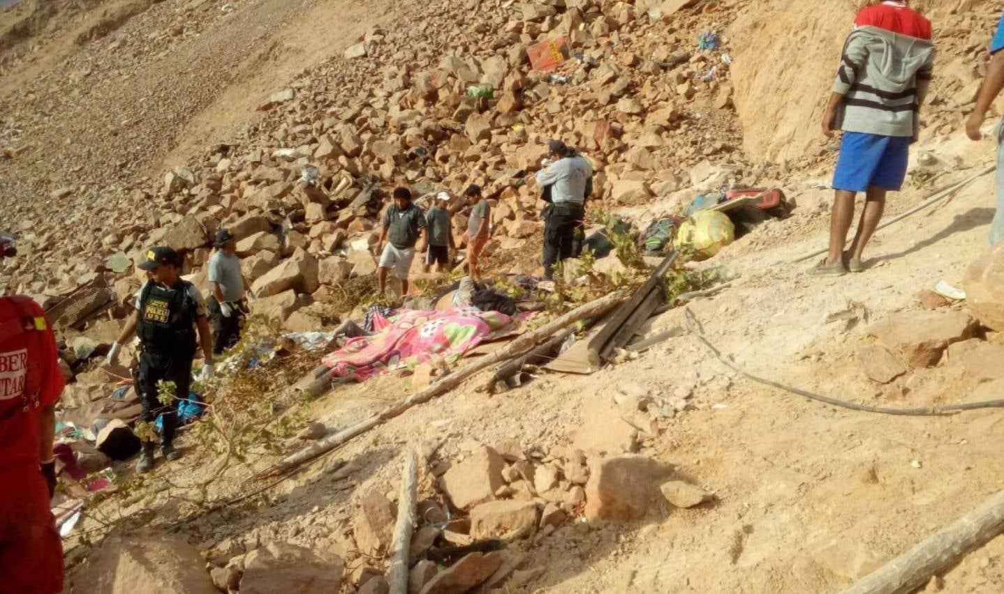 L'accident s'est produit avant l'aube, près de la province de Camana.