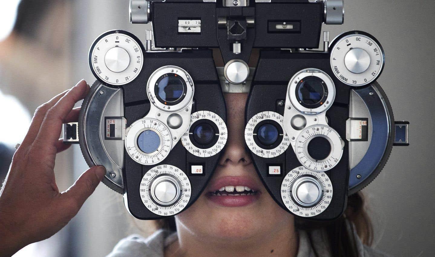 Environ 90 % des 1400 optométristes menacent de se retirer du régime public à compter du 10mars.