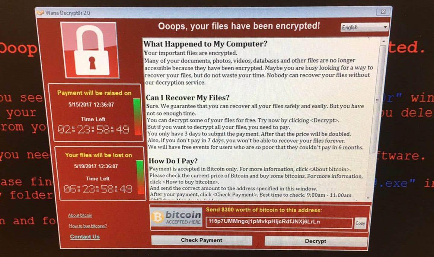 Les «rançongiciels» («ransomwares», qui par exemple verrouillent les ordinateurs et demandent de l'argent pour les déverrouiller) sont le mode d'attaque qui croît le plus rapidement.