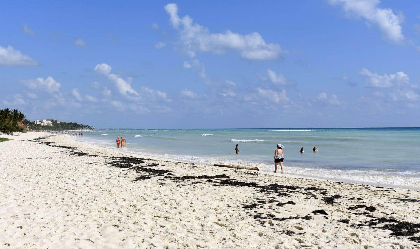 La station balnéaire de Playa del Carmen est prisée par les touristes canadiens.