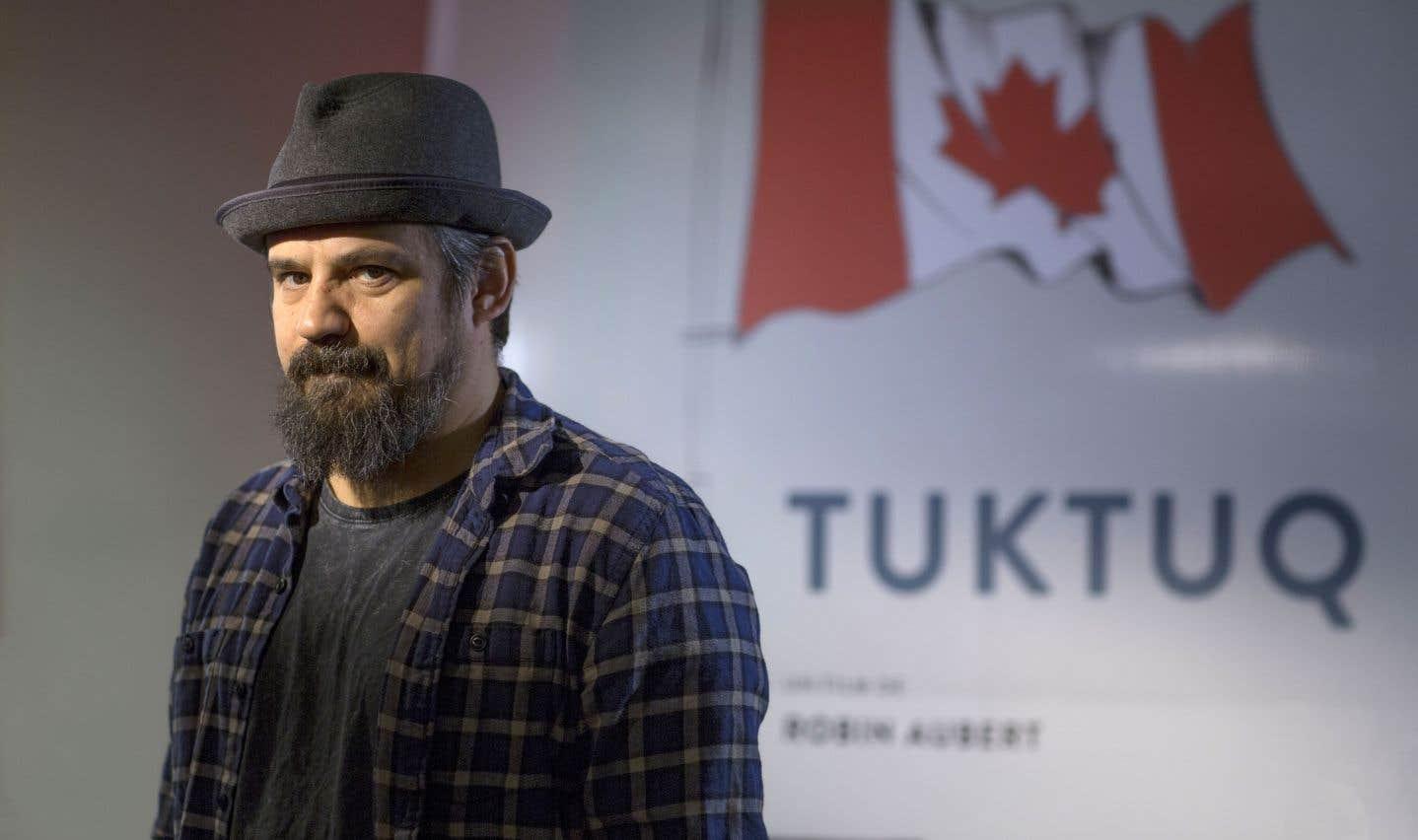 «Je fais du cinéma parce que c'est le média que j'ai choisi pour exprimer mon point de vue sur ce qui m'entoure», racontele réalisateur Robin Aubert.