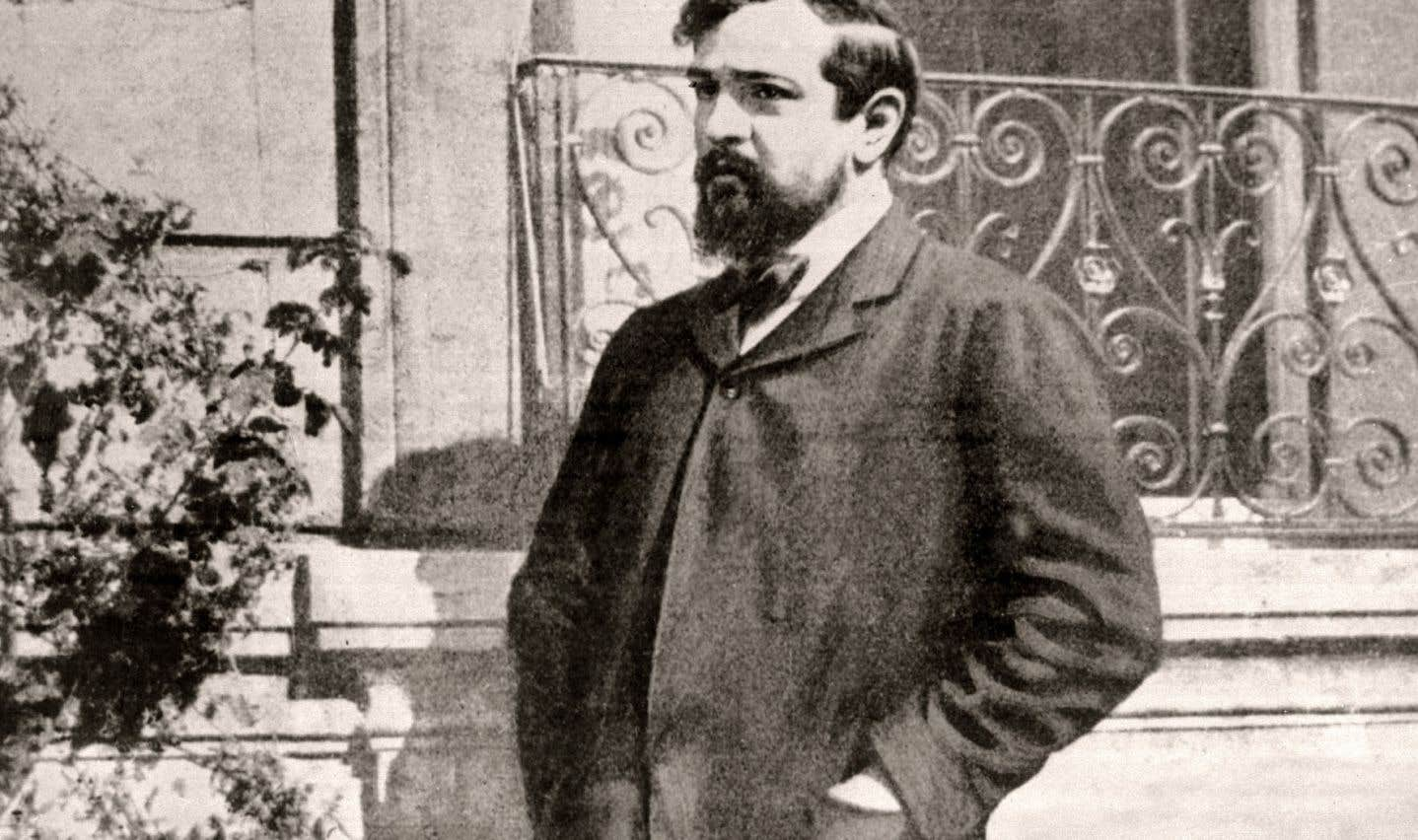 Photo non datée du compositeur Claude Debussy
