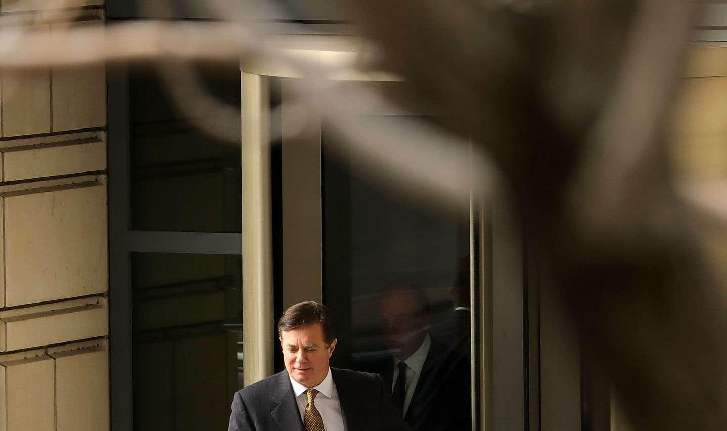 Paul Manafort, ancien chef de campagne de Donald Trump, en janvier dernier