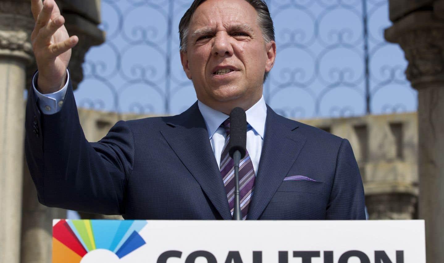 François Legault le 6 septembre 2012, au lendemain des élections provinciales