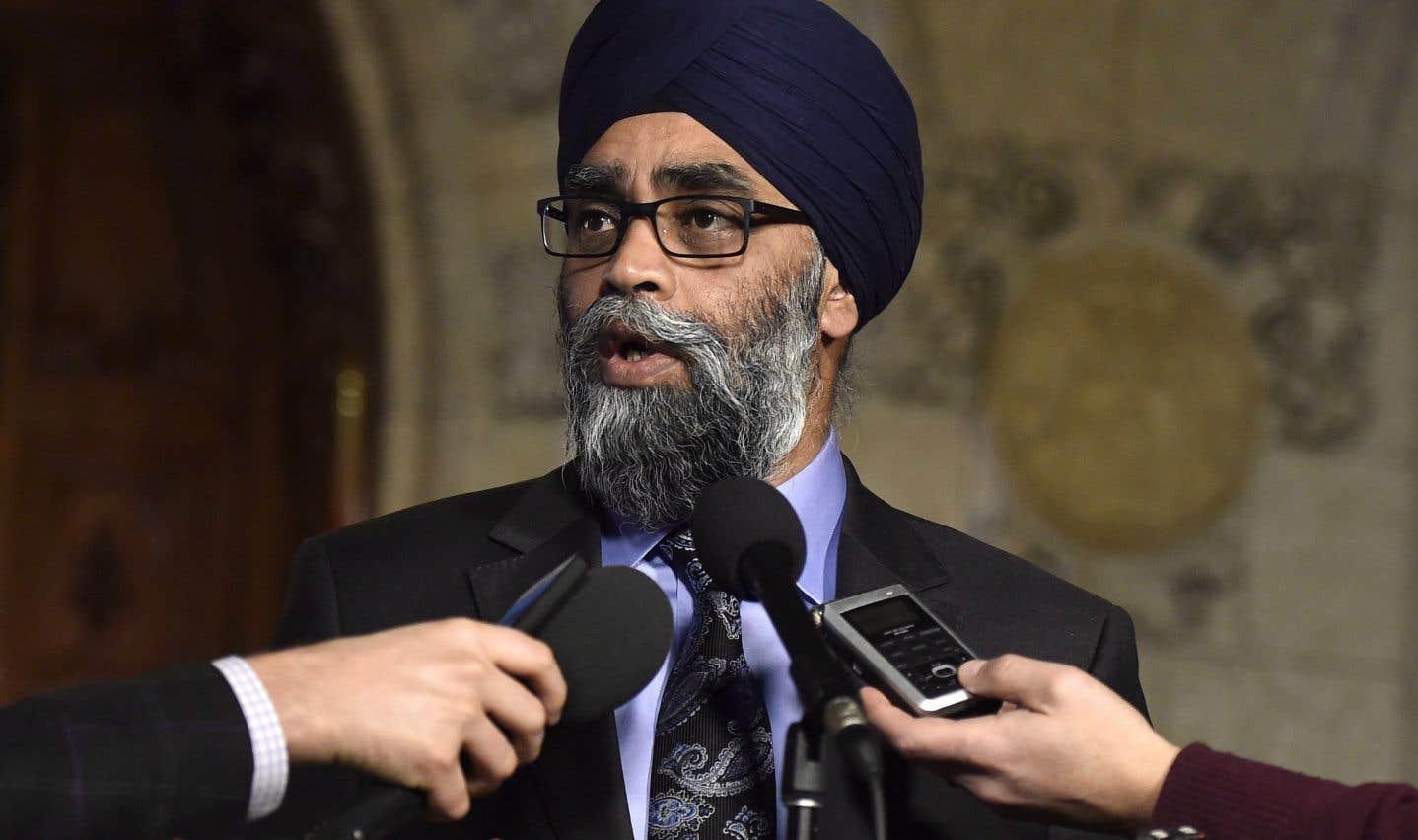 «Nous sommes impatients d'entamer les discussions en vue de permettre aux victimes de guérir et de tourner la page», a déclaré le ministre de la Défense, Harjit Sajjan.