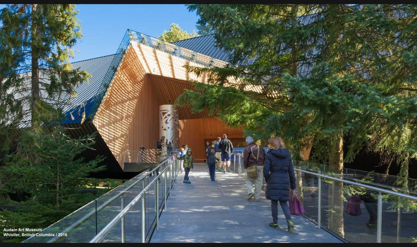 Le Musée d'art Audain (Colombie-Britannique), Patkau Architects