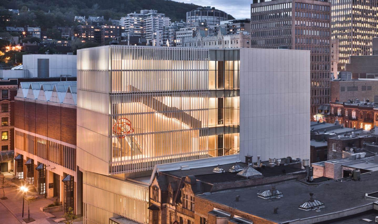 Le pavillon pour la Paix du Musée des beaux-arts de Montréal, Atelier TAG et Jodoin Lamarre Pratte Architectes en consortium
