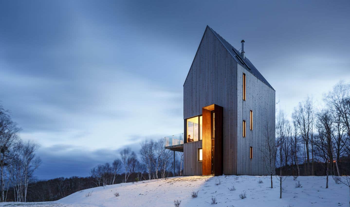 Le chalet de la gorge du Piège à lapins (Nouvelle-Écosse), Omar Gandhi Architect et Design Base 8 (New York)