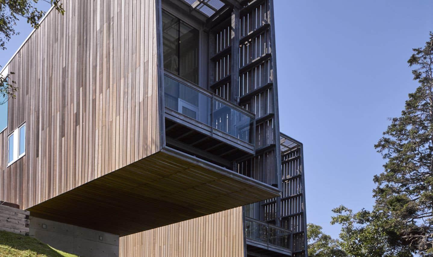 La maison aux deux coques (Nouvelle-Écosse),MacKay-Lyons Sweetapple Architects