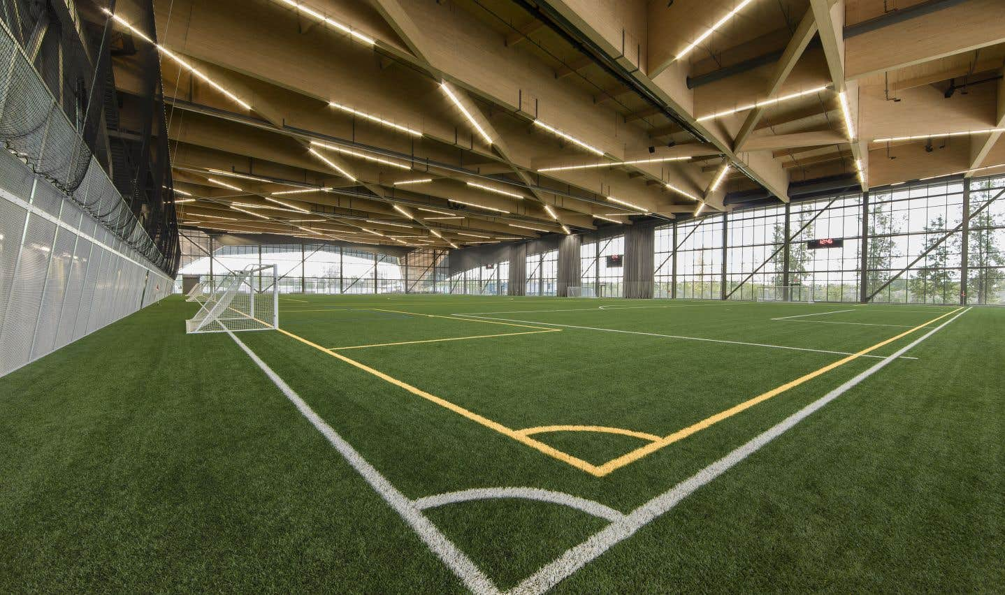 Le Stade de soccer de Montréal,Saucier+Perrotte Architectes et HCMA