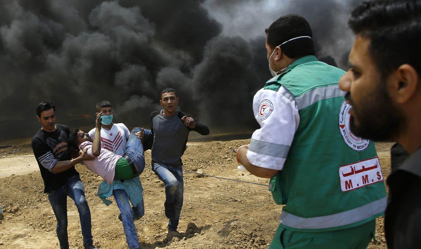 Cette journée de festivités côté israélien et américain est aussi la plus meurtrière du conflit israélo-palestinien depuis la guerre de 2014 dans la bande de Gaza.