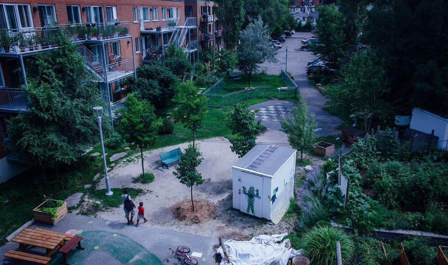L'Îlot-Pelletier, un quartier de logements communautaires dans le nord-ouest de Montréal-Nord. Autrefois, le secteur était la proie des gangs de rue, du trafic de drogue et de la prostitution. En 2012, les lieux ont été réaménagés en espace communautaire grâce à l'implication des habitants.