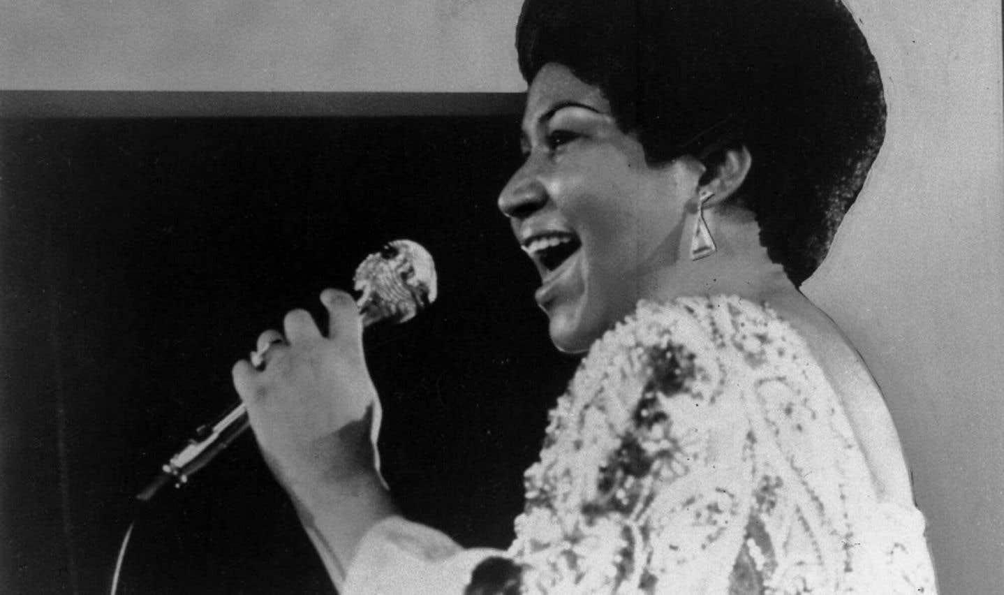 Aretha Franklin en 1972