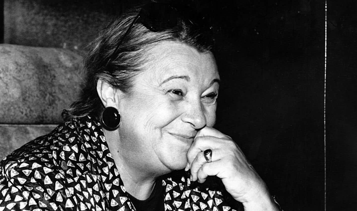 Lise Payette en avril 1990
