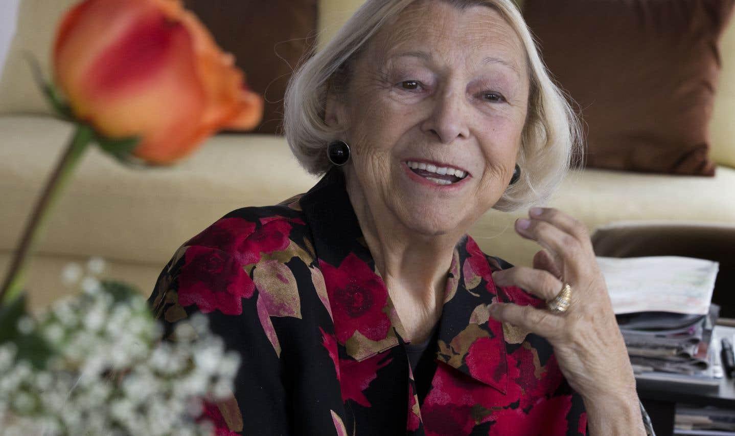 Lise Payette en mai 2014.