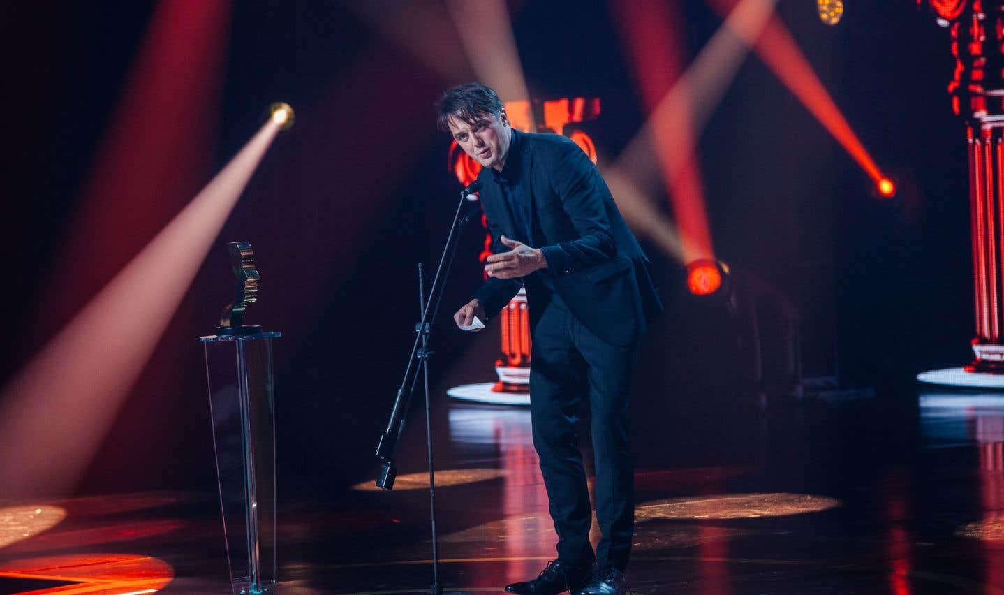 Pour son rôle dans «District 31»,Vincent-Guillaume Otis a obtenu le prix du meilleur premier rôle dans la catégorie série dramatique annuelle.
