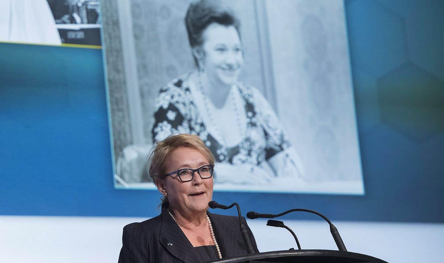 Tout comme l'ancienne première ministre Pauline Marois qui lui a rendu hommage.