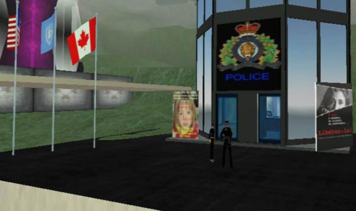 On aurait pu croire que la Gendarmerie royale du Canada avait déjà fait du recrutement sur Second Life, mais le corps policier avait été en fait victime d'une usurpation d'identité par des imposteurs.