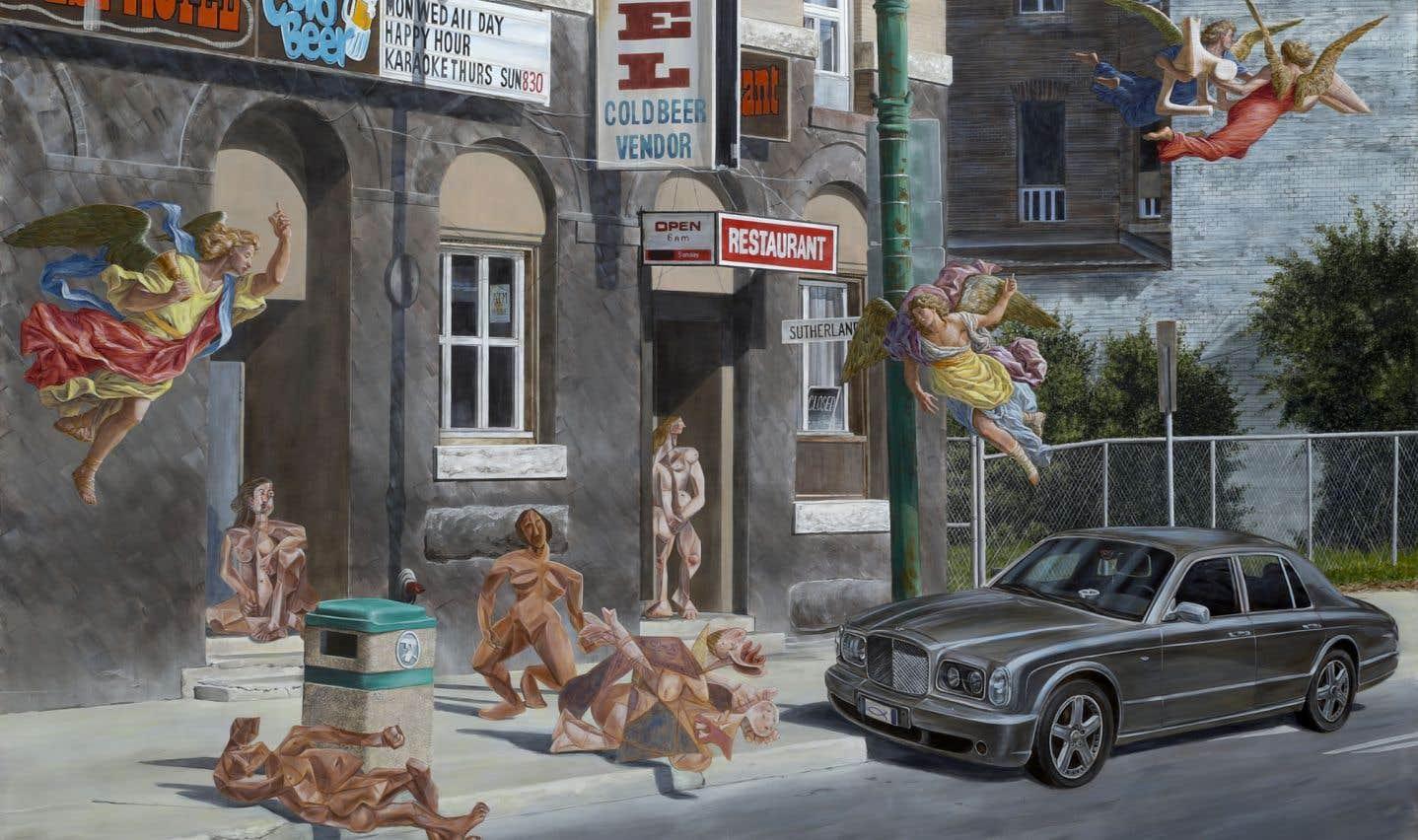 Kent Monkman, «Le petit déjeuner sur l'herbe», 2014