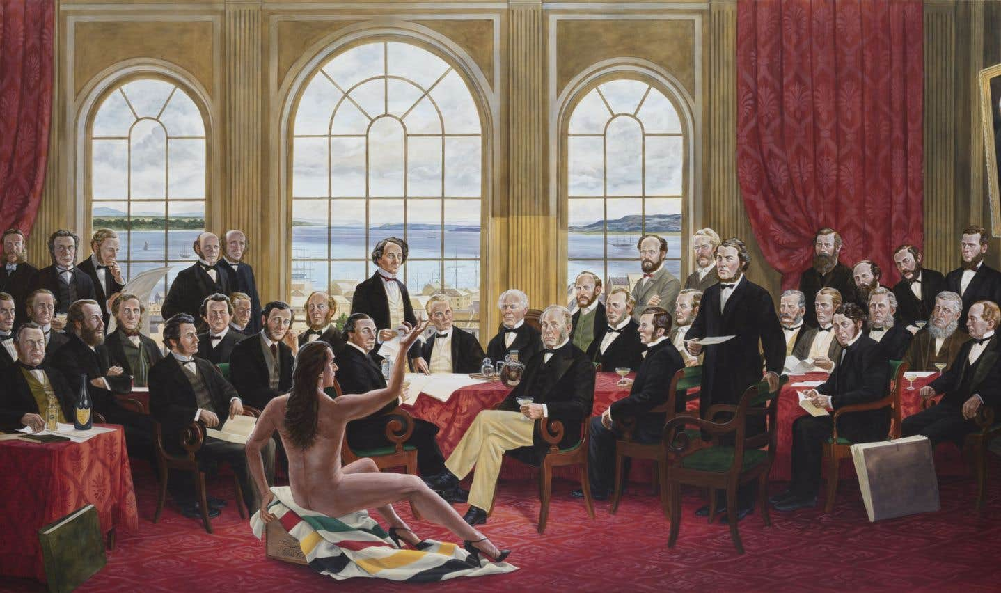 Kent Monkman, «Les papas», 2016
