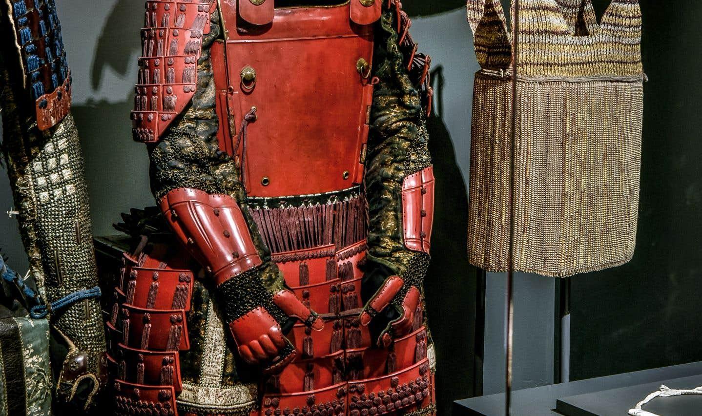 Armure de samouraï de type yukinoshita dou de la période Edo (Collection Richard Béliveau).