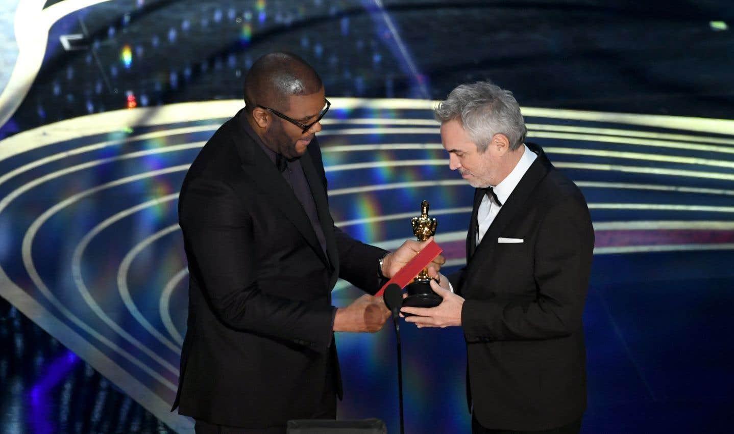 Alfonso Cuarónest reparti avec le prix de la meilleure réalisation, de la meilleure direction photo et du meilleur film en langue étrangère pour son film «Roma».