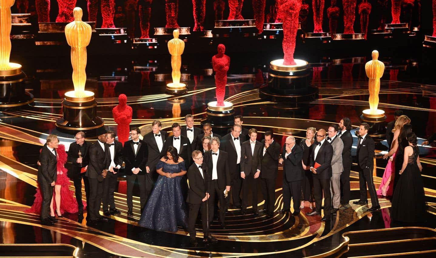 L'équipe du film «Green Book»de Peter Farrellya remporté l'Oscar du meilleur film, mais aussi l'Oscar du meilleur scénario original.