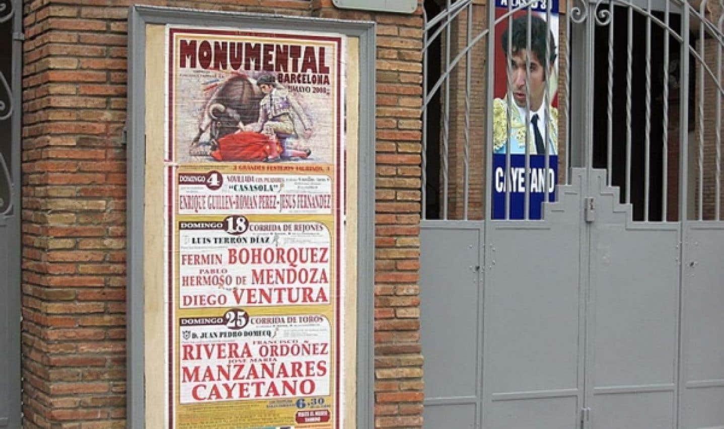 La corrida mise à mort en Catalogne
