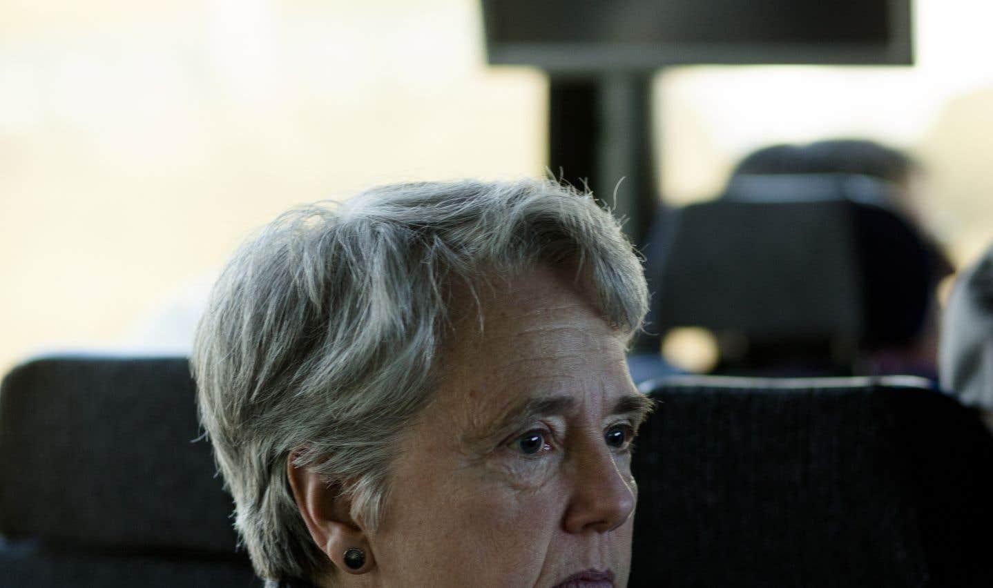 Marie Delagrave, ex-journaliste au «Soleil», dit être «encore sonnée» par ce qu'elle vit. «Dans l'ensemble, on perd 30% [de nos rentes] et ça, ce n'est pas correct, parce que c'était nos économies.»