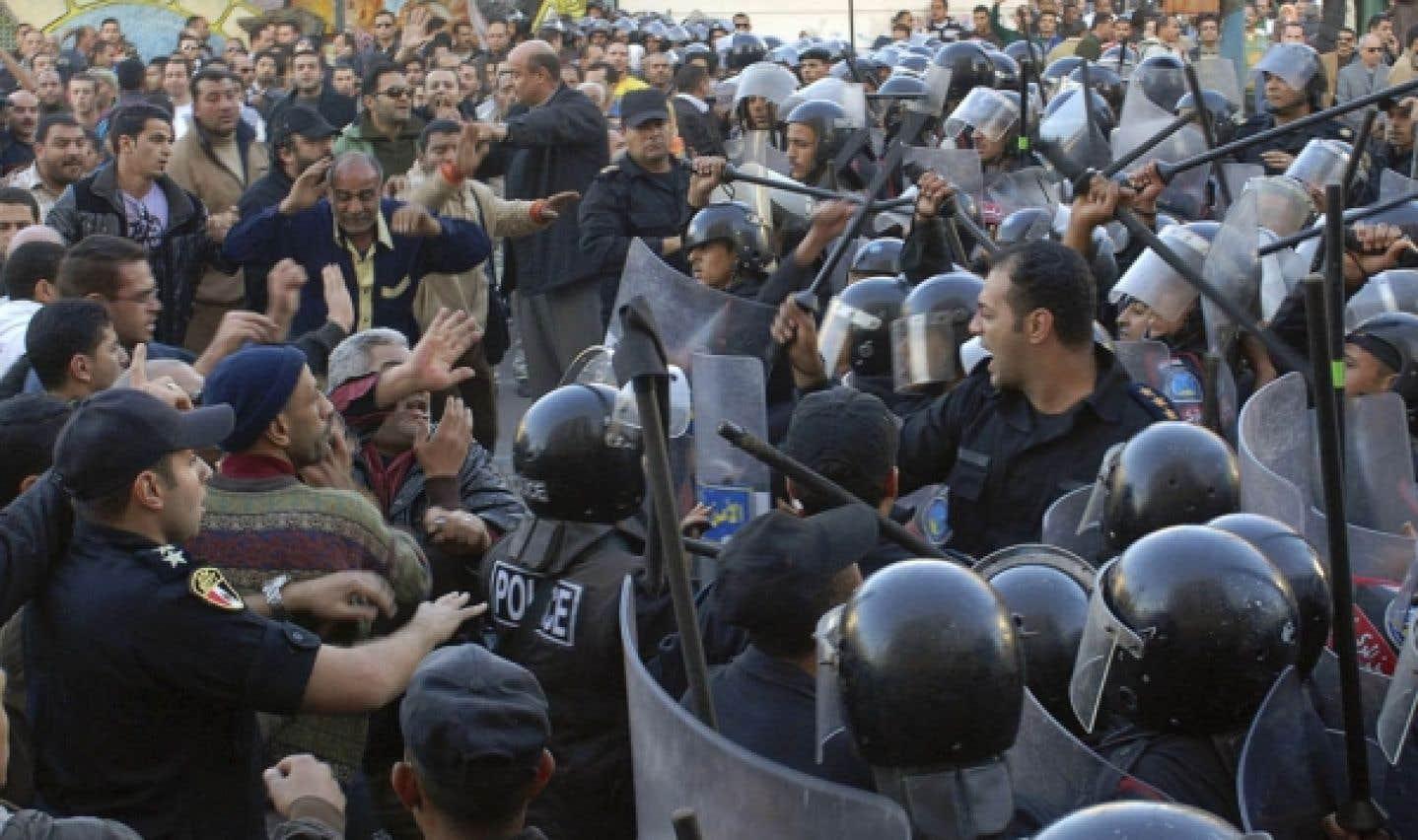 Journée de révolte en Égypte