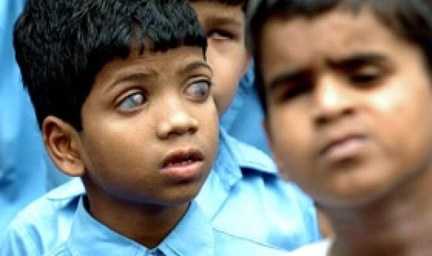 Seulement 3 % des individus affichant une déficience visuelle sont atteints de cécité à la naissance.