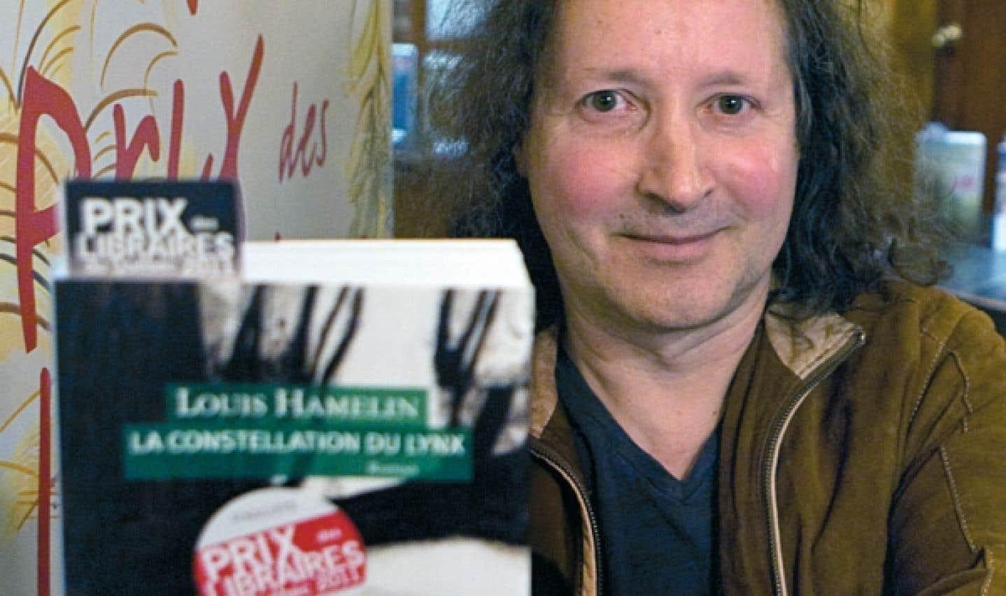 Louis Hamelin remporte le 18e Prix des libraires du Québec